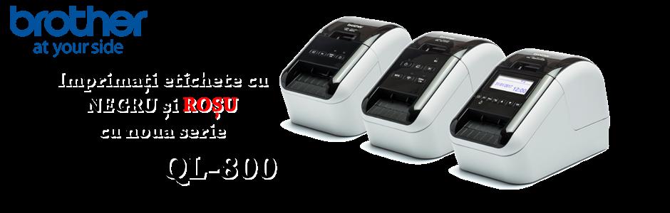 Imprimați etichete cu negru și roșu cu noua serie QL-800