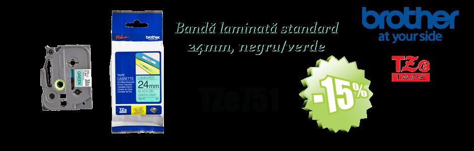 Banda laminata standard TZE751