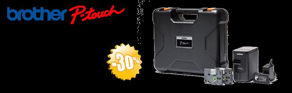 Aparat de etichetat P-Touch P750TDI - BUNDLE