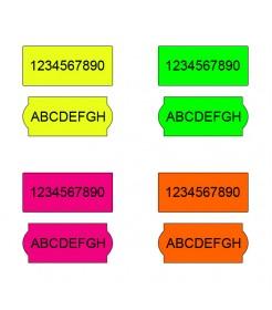 Rola de etichete Blitz C8 - fluorescenta